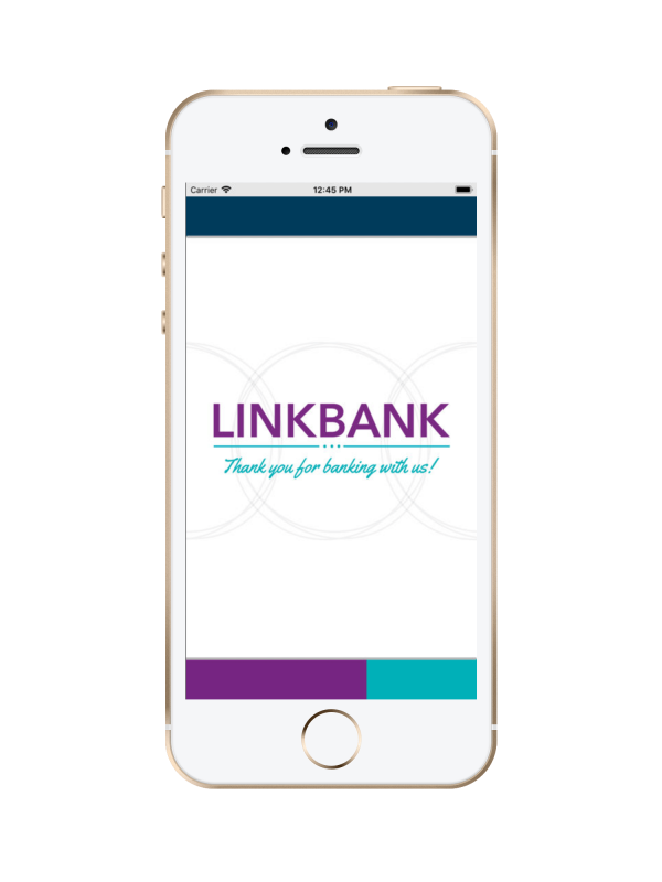 link-bank-home-screen